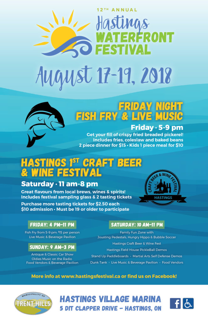 Hastings Waterfront Festival Poster
